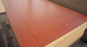 3mm Cherry Melmaine MDF pictures & photos