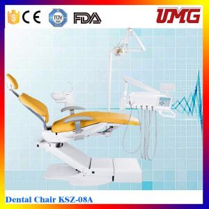 China Dental Products Dental Rotation Chair with Rotating Spittoon pictures & photos