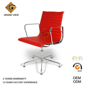 Red Leather Eames Aluminium Chair (GV-EA108) pictures & photos