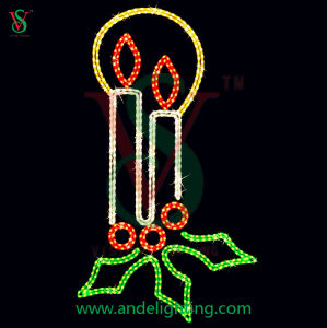 Christmas Candle Light Christmas Street Decoration Light pictures & photos