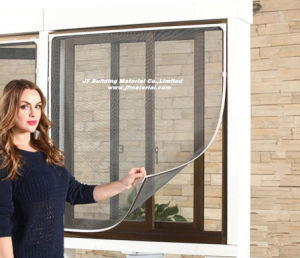 DIY Hook & Loop Insect Screen Fiberglass DIY Insect Window Screen pictures & photos