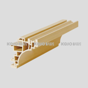 Decorative Material Waterproof Moistureproof WPC Cornice (CJ-75A) pictures & photos