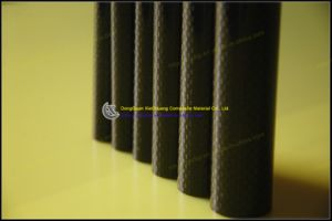 Epoxy Resin Pultruded Carbon Fiber Tube for Airplanes