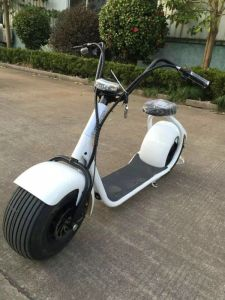 2017 Popular Electric Scooter with Big Wheels, Fashion City Scooter Citycoco pictures & photos