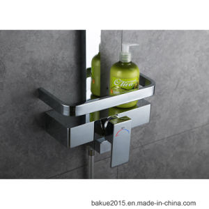 Brass Bathroom Wall Mounted Full Shower Set with Single Handle pictures & photos