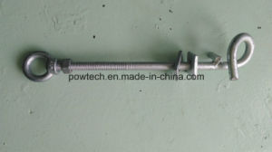 Galvanized Power Line Oval Eye Bolt pictures & photos