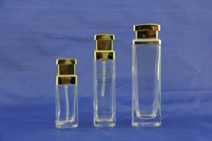 Luxury Glass Bottle for Cosmetics Packaging