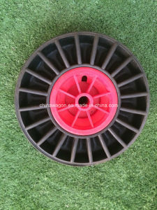 10inch Rubber Powder Solid Wheel pictures & photos