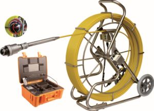 Pan / Tilt Inspection Camera for Pipelines with 50mm Camera Lens, 60m Testing Cable