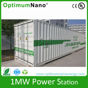 Renewable 1mwh 1000kwh on Grid off Energy Storage Cabinet UPS for Instrumentation pictures & photos