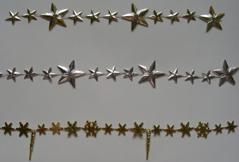 Christmas Star Bead Chain