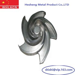 Stainless Steel Investment Casting Pump Impeller pictures & photos