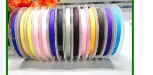 30mm Custom Woven Embroidered Ribbon pictures & photos