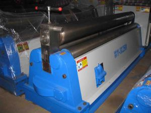 Mechanical Three Roller Rolling Machine (W11 6X1600) pictures & photos