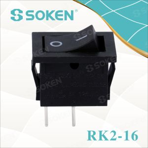Sokne Rk2-16 1X2 B/B on off Rocker Switch pictures & photos