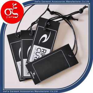 Fancy Custom Printed Cardboard Tags/Hang Paper Tag with Eyelet pictures & photos