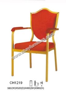 Aluminium Banquet Arm Chairs CH1219