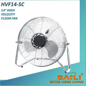 "14"" High Velocity Floor Fan, Industrial Fan with Metal Grilles pictures & photos"
