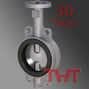 New Design Handle Wafer Worm API Water Control Valve Butterfly Valve pictures & photos