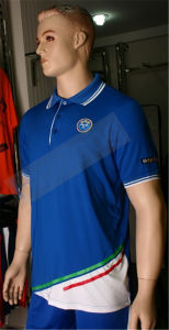 Healong 100% Polyester Sublimation Polo Polo Shirt pictures & photos