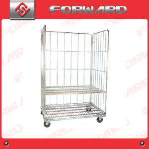 Foldable Moveable Warehouse Storage Cage and Roll Container pictures & photos