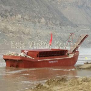 100m3 River Sand Carrier, Sand Barge, Sand Transportation Barge pictures & photos