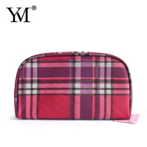 New Product Fashion England Style Polyster Cosmetic Bag pictures & photos