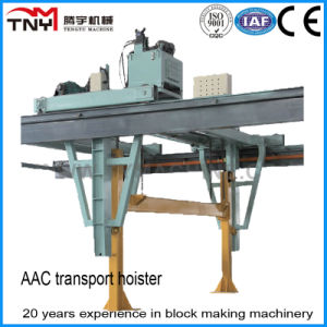 Hydraulic Convertible Frequency Transport Hoister for AAC Block Production Line Price pictures & photos
