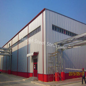 High Quality China Steel Construction Workshop with Competitive Price pictures & photos