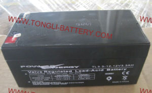 Tl3.3A 12V3.3ah VRLA Sealed Lead Acid Maintenance Free UPS Battery pictures & photos