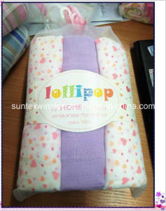 100% Cotton Muslin Baby Diapers St008 pictures & photos
