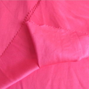 100%Rayon Red Satin Dyeing Fabric for Women Dress pictures & photos