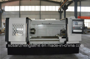 Horizontal Chiness CNC Lathe From Factory (CK6263G)
