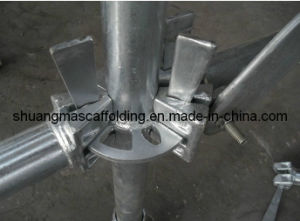En12810 Construction Steel Platform Pin Lock Scaffolding pictures & photos
