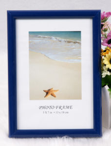 Plastic Photo Frame/Picture Frame/Frame/Back Open Picture Frame (M-BD) pictures & photos