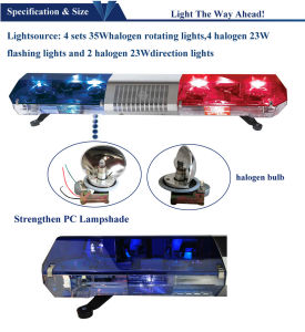 Rotating Warning Light for Police Car pictures & photos