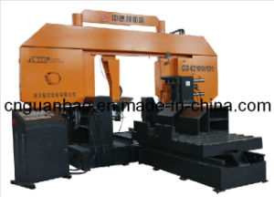 Double Column Band Saw for Metal Cutting Gd42100/120 pictures & photos