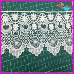 White Color Chemical Lace pictures & photos