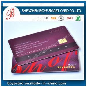 Plastic Chip IC Cards (FM4428) pictures & photos
