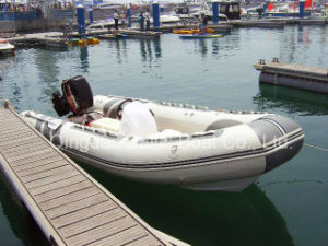 Inflatable Rib Boat 520 Made in China with Boat Console for Sale pictures & photos