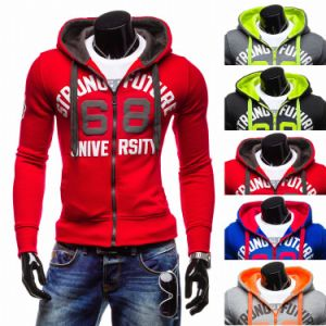 Men′s Wholesale Fleece Print Sweatshirt, Hoody (XY00205) pictures & photos