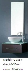 Bathroom Cabinet with Mirror MDF Furniture pictures & photos