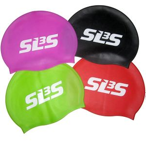 Fashionable Customized Logo Printed Adult Waterproof Silicone Swimming Cap pictures & photos