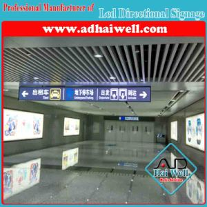 Hanging Acrylic LED Directional Signage for Airport pictures & photos