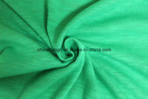 T/C 65/35, 160GSM, Slub Yarn Single Jersey Knitting Fabric for Sportswear pictures & photos