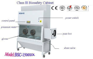Class III Biosafety Cabinet (BSC-1500IIIX) pictures & photos