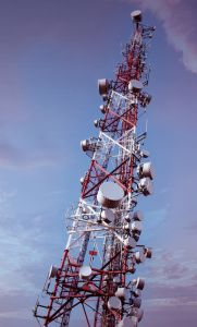 Four Legged GSM Microwave and Communication Steel Tower pictures & photos