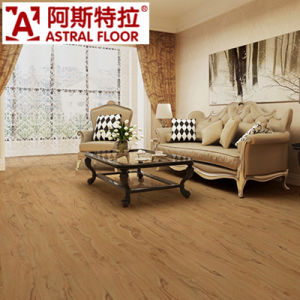 Yellow Color in 12mm Thickness Laminated Flooring pictures & photos