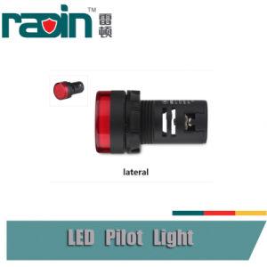 12V/24V/110V/240V LED Indicator Light Red Yellow Green 22mm 16mm Panel Pilot Light pictures & photos