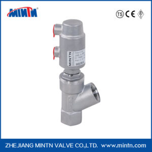Mt-G3-B Pneumatic Stainless Steel Thread Ends Filling Valve with Stainless Steel Actuator pictures & photos